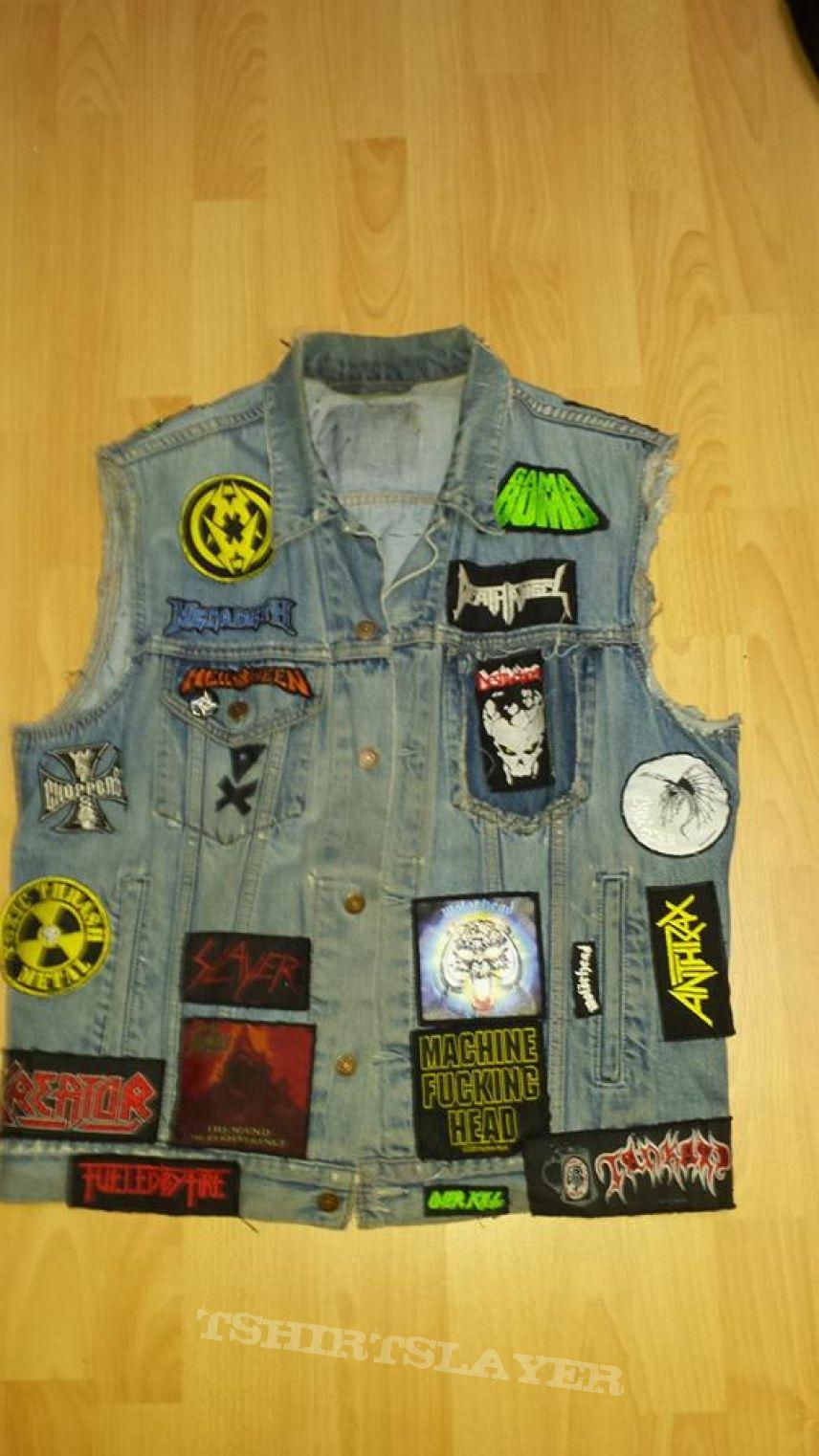 My first battle jacket !
