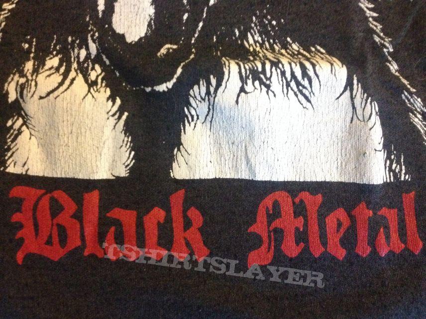 """Black Metal"" 1st album shirt"