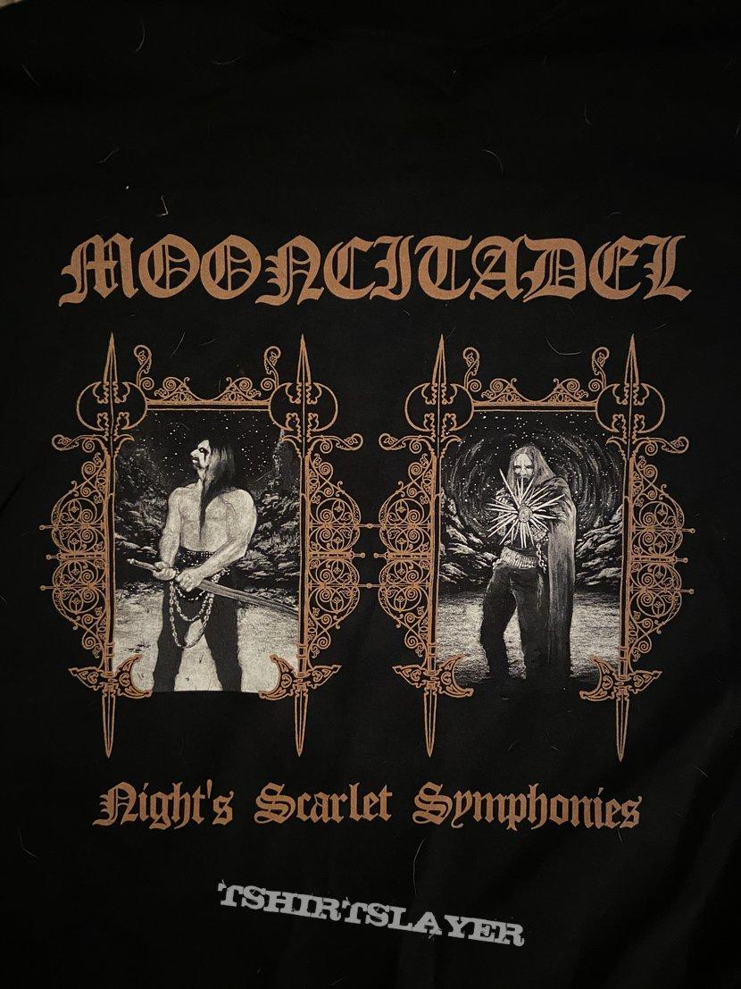 "Mooncitadel - ""Night's Scarlet Symphonies"" shirt"
