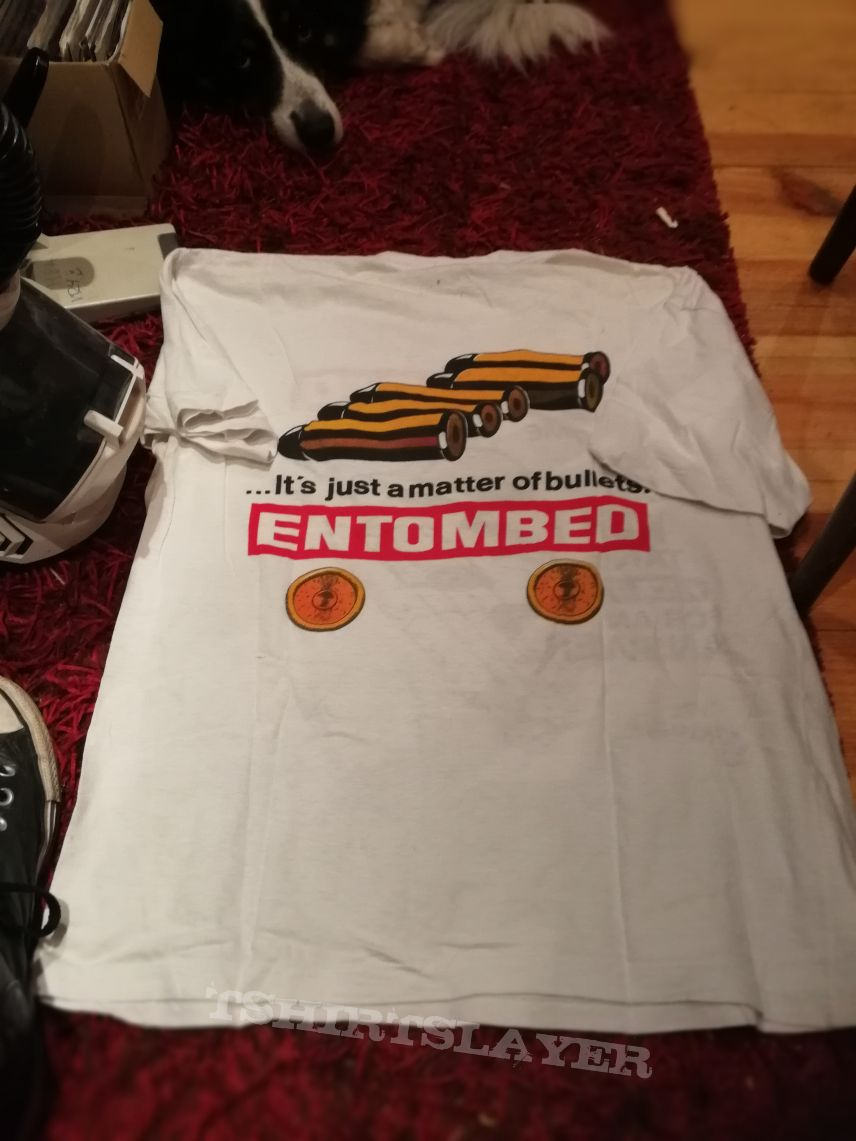 Entombed - Hollowman / Some people just won't take fuck you for an answer / gun shirt