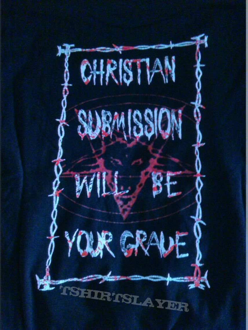 Horrid christian submission will be your grave