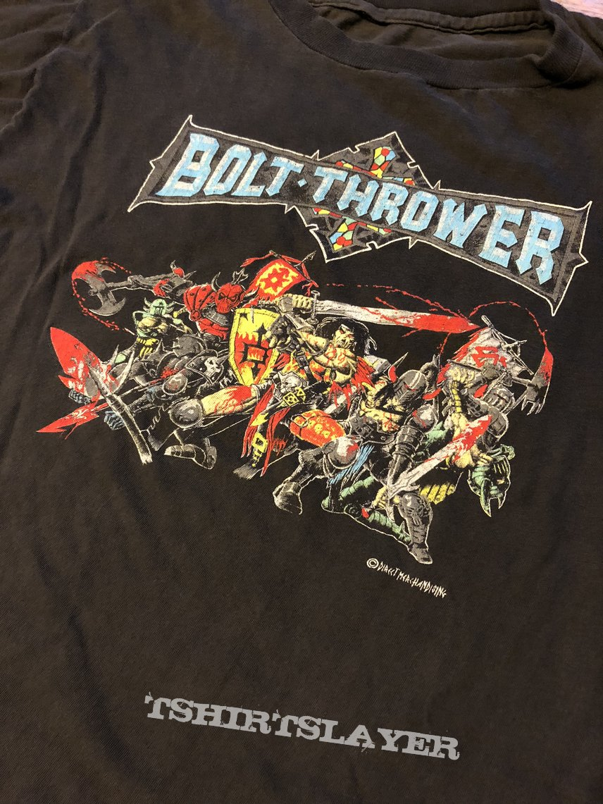 Bolt Thrower- War Master direct merchandise print