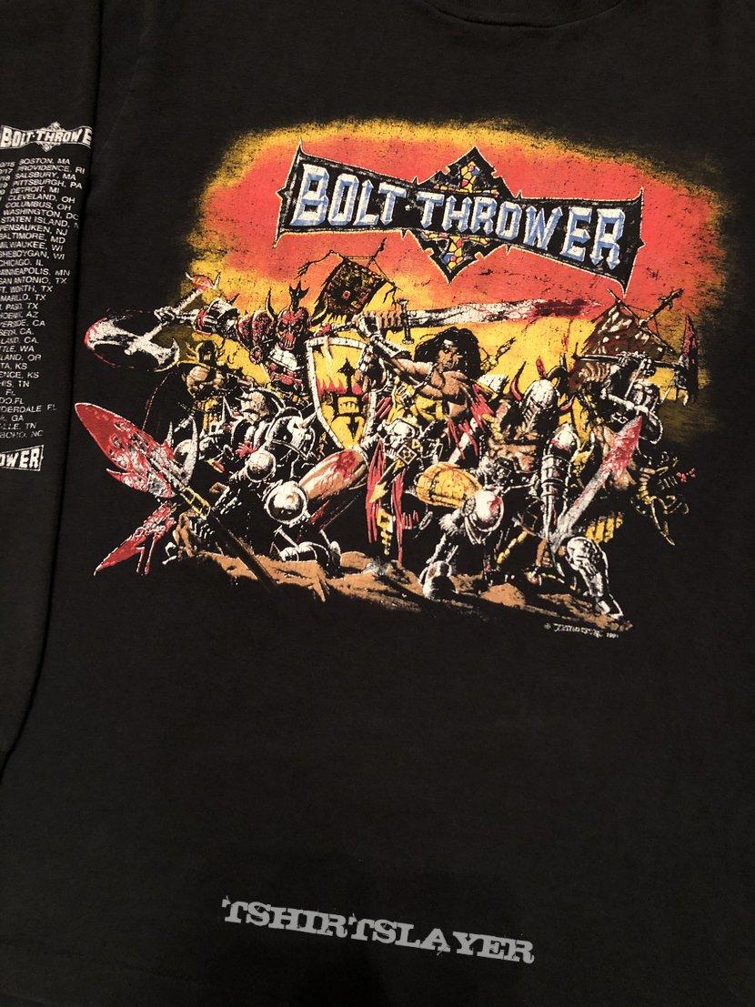 Bolt Thrower - war master US tour longsleeve