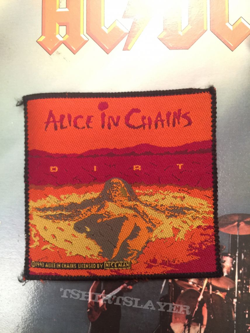 Alice In Chains: Dirt woven patch
