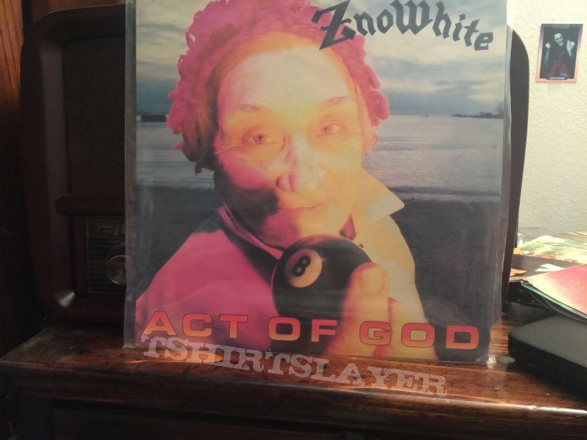 Znöwhite Act of God vinyl