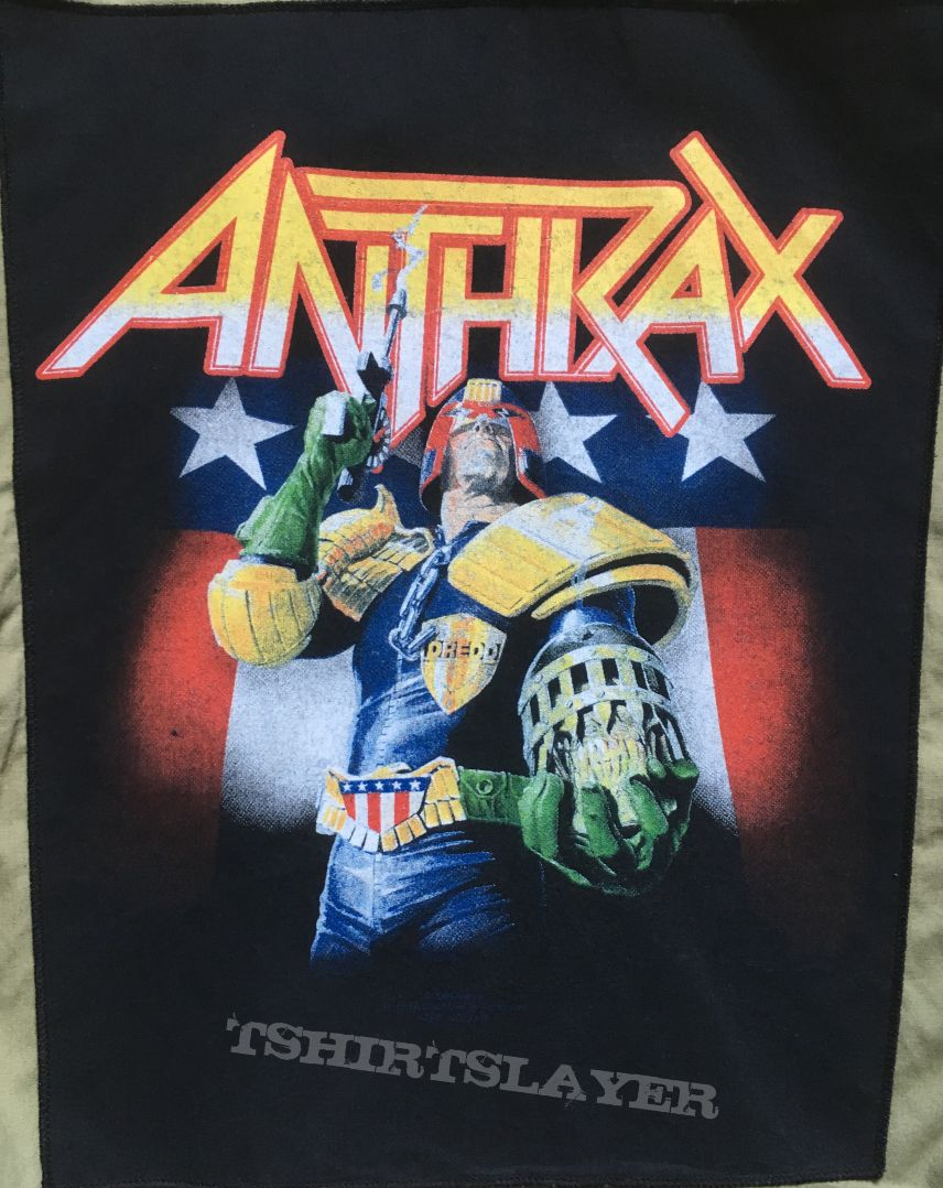 Anthrax - Judge Dredd Backpatch