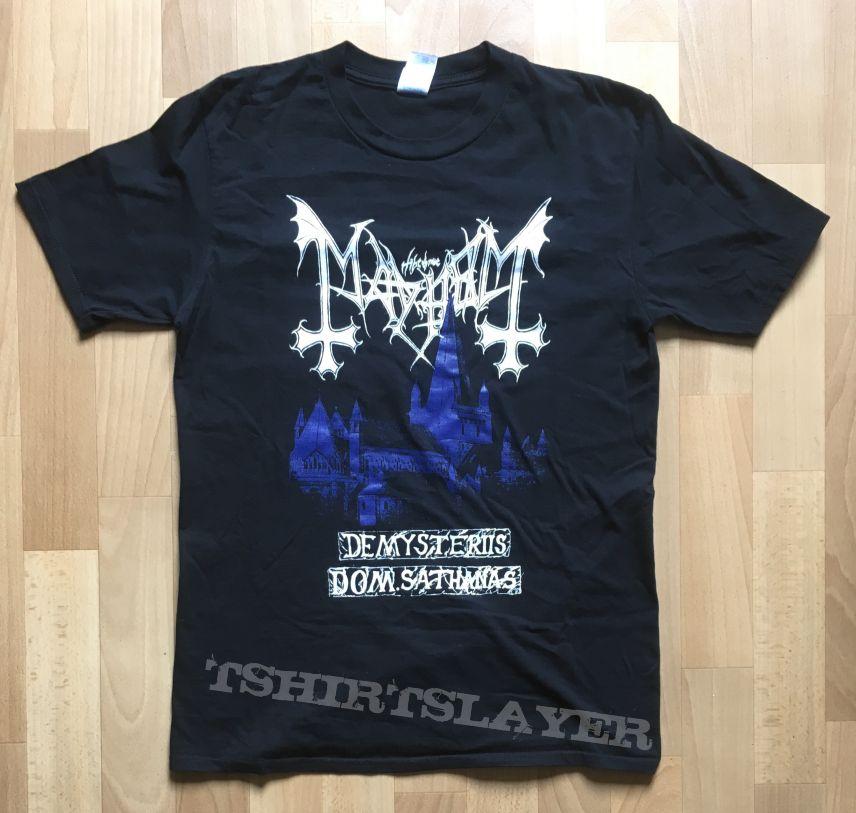 Mayhem - De Mysteriis Dom Sathanas Tour shirt