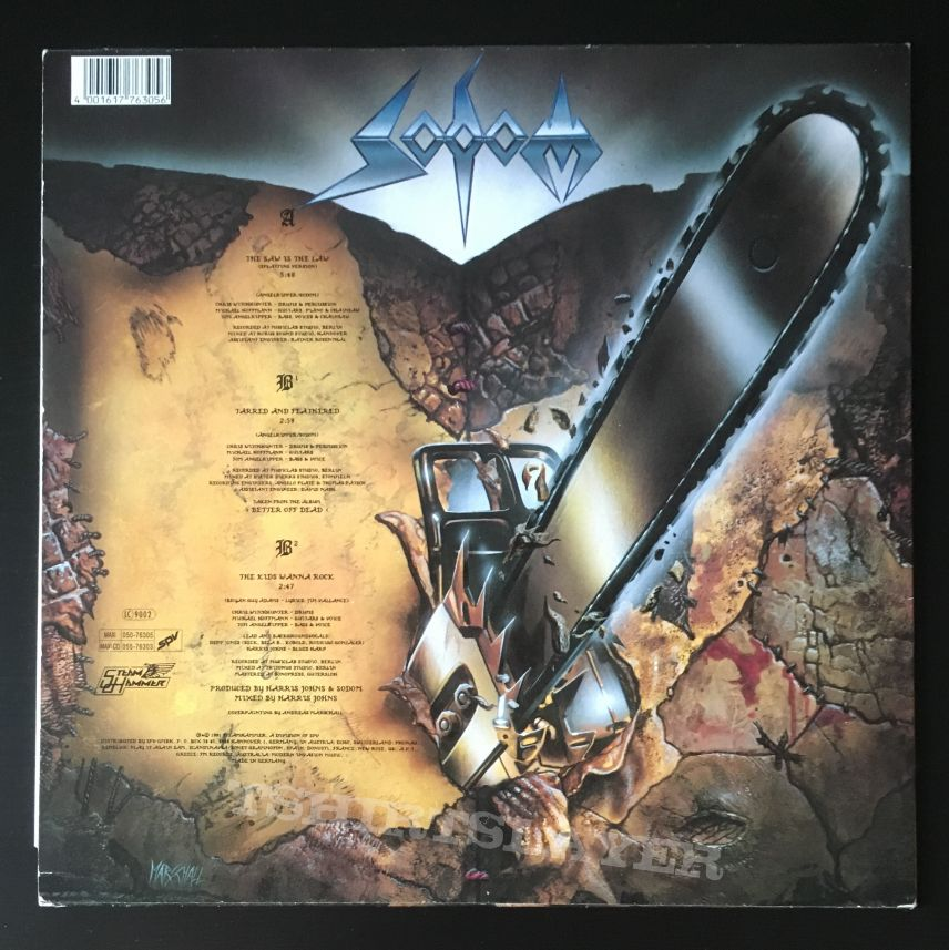 Sodom - The Saw Is The Law Maxi