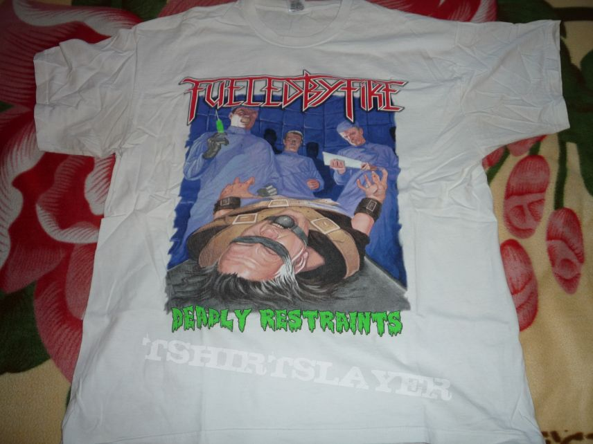 Fueld by Fire Tour t-shirt 2012