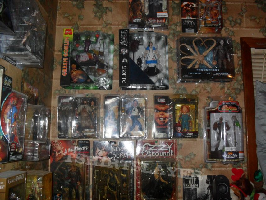 Action-Horror figure collection