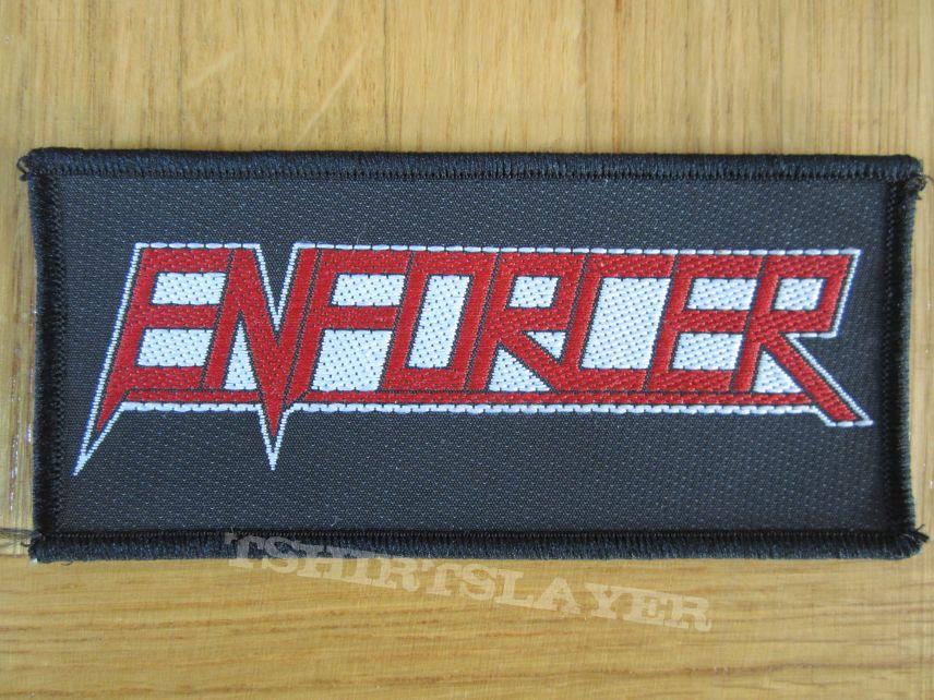 Enforcer - Logo Patch 2013