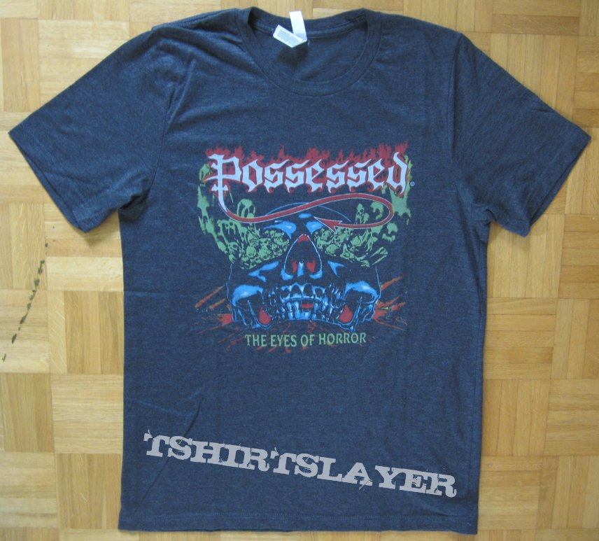 Possessed - The Eyes Of Horror T- Shirt 2018 (Size M)
