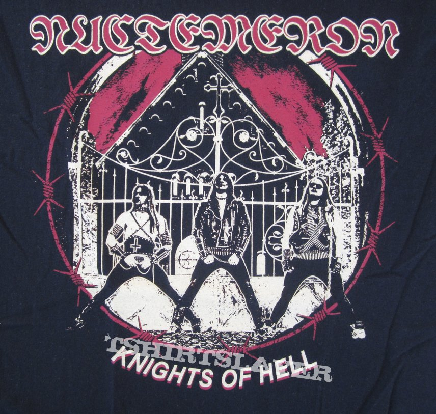 Nuctemeron - Knights Of Hell T- Shirt 2016 (Size M)