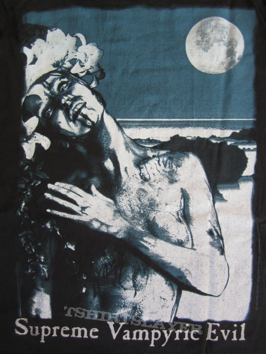Cradle Of Filth - Supreme Vampyric Evil Longsleeve 1996 (Size XL)
