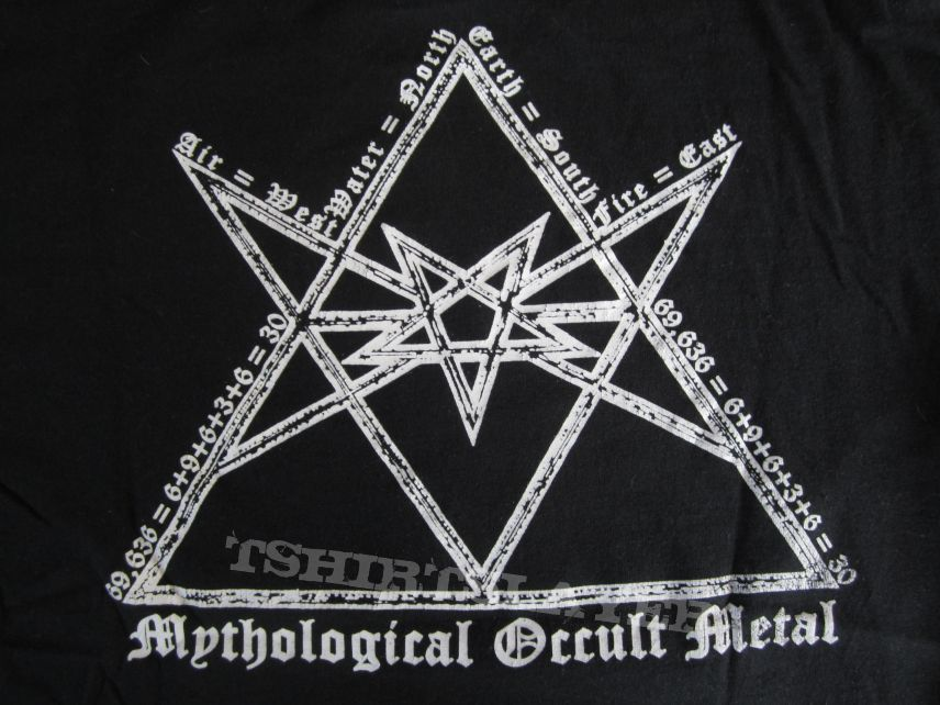 Absu - Mythological Occult Metal T- Shirt 2017 (Size M)
