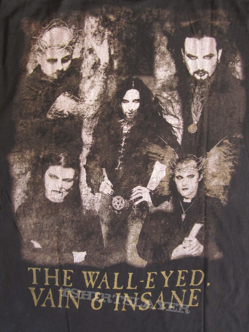 Cradle Of Filth - The Wall - Eyed, Vain & Insane Longsleeve 1998 (Size XL)