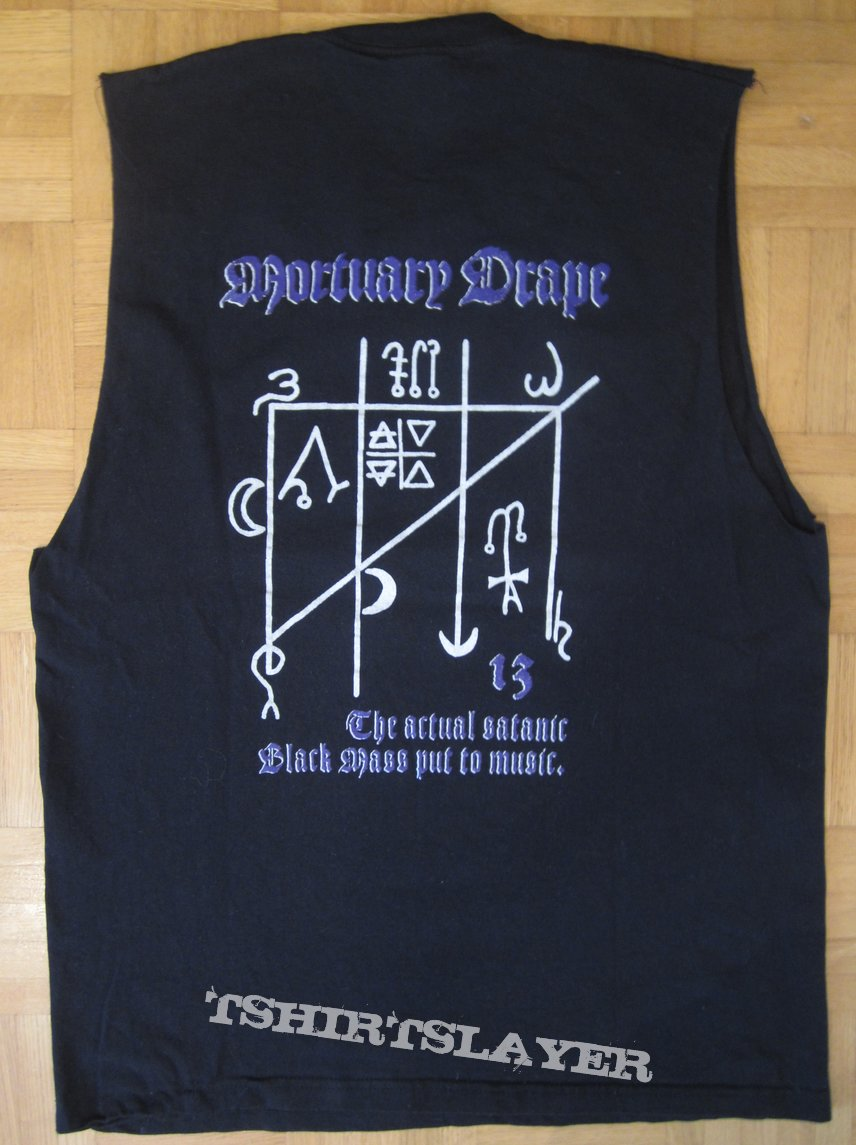 Mortuary Drape - All The Witches Dance T - Shirt (Size M)