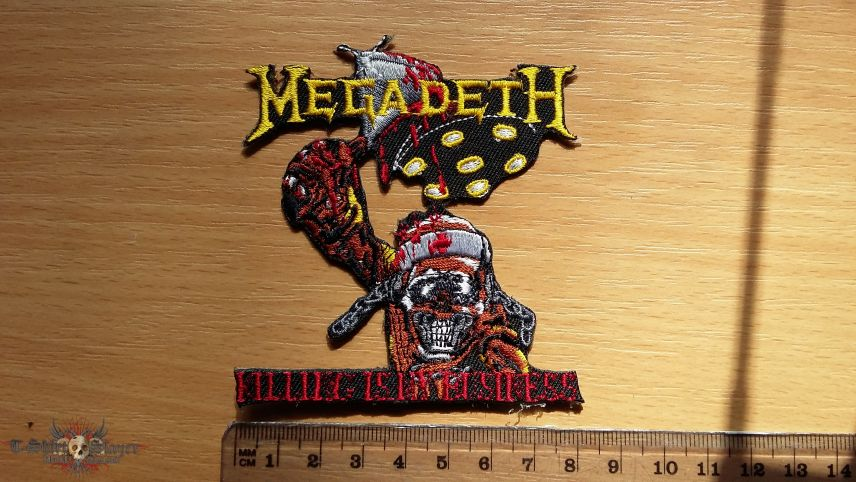 Megadeth Killing Is My Business patch