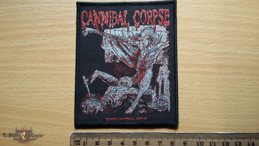 Cannibal Corpse Tomb Of The Mutilated patch