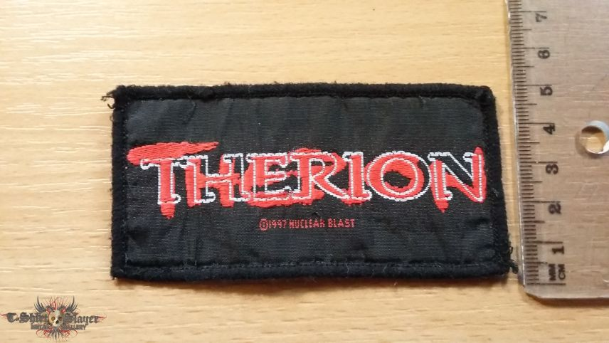 Therion Logo patch
