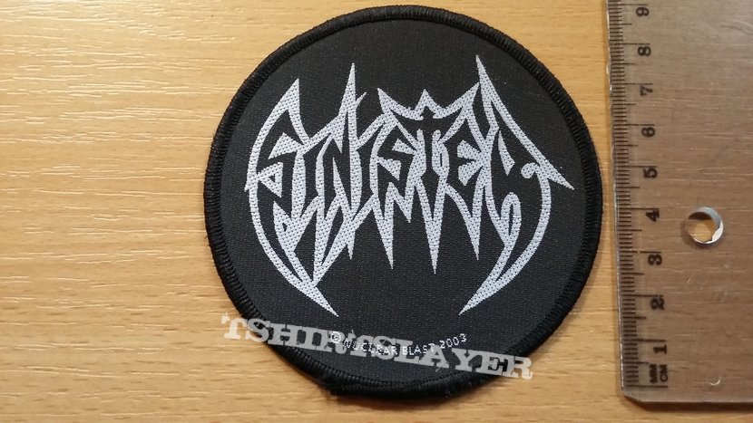 Sinister logo patch