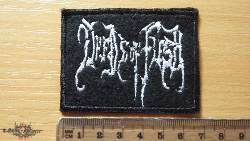 Deeds Of Flesh logo patch