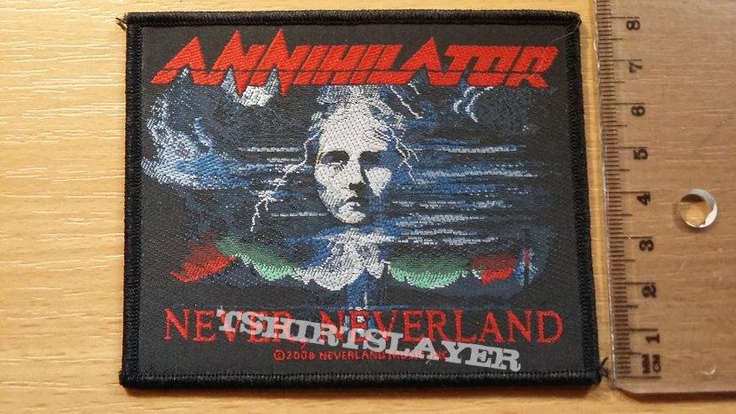 Annihilator Never Neverland patch