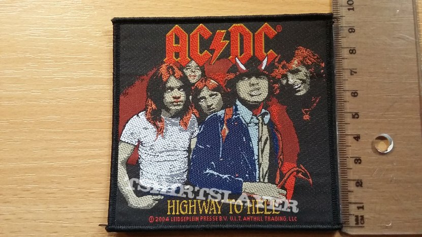 AC/DC Highway To Hell patch