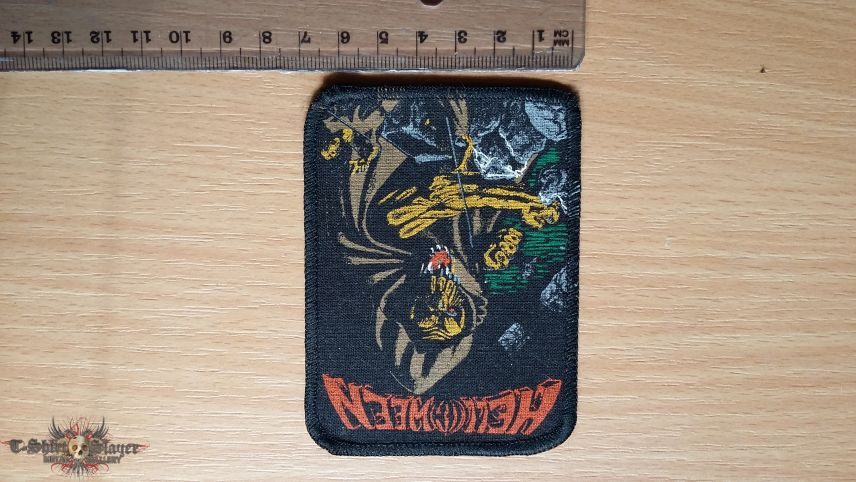 Helloween Walls Of Jerico patch