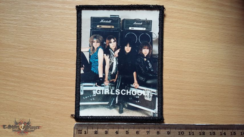 Girlschool Photopatch