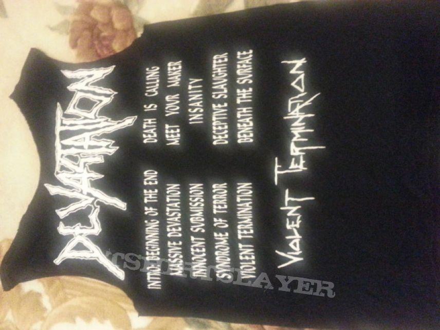 Devastation - Violent Termination shirt