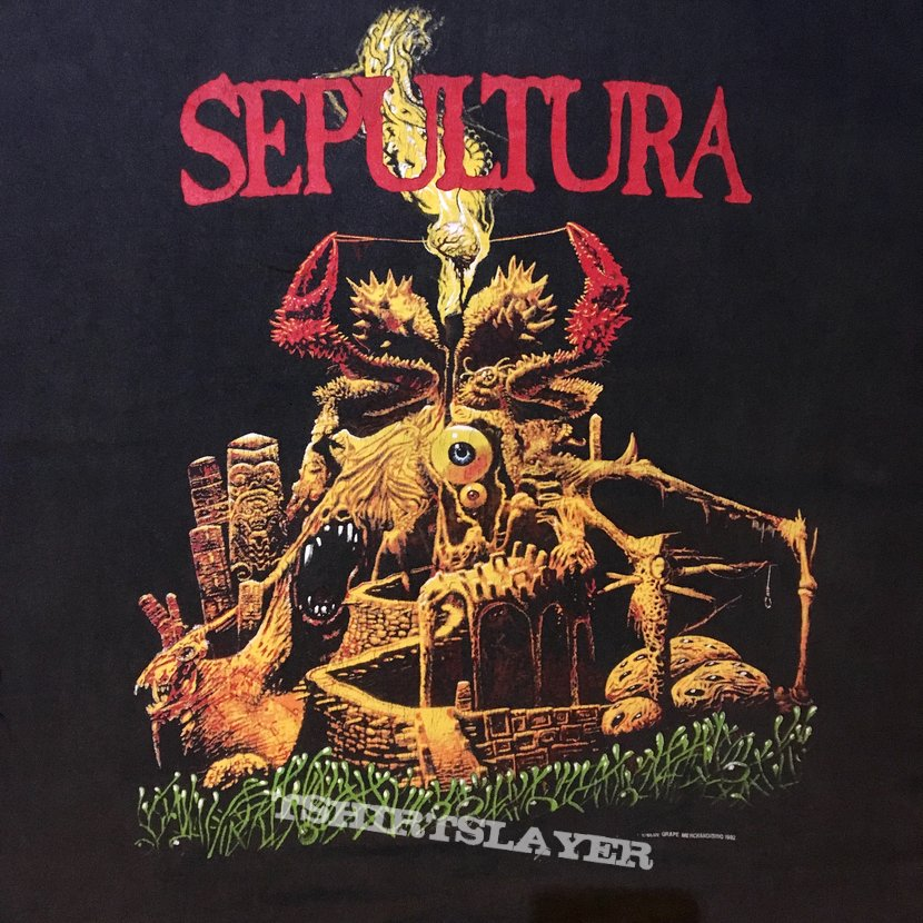 Sepultura arise third world posse tour 92