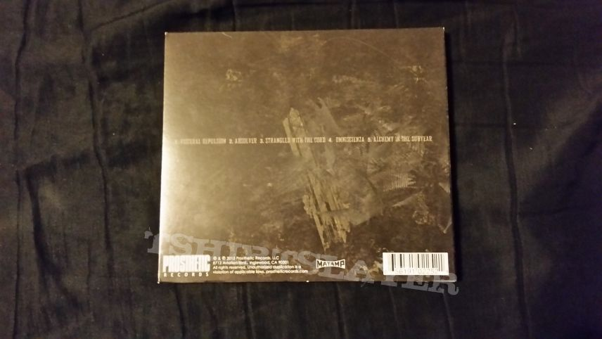 Dragged Into Sunlight and Gnaw Their Tongues NV CD
