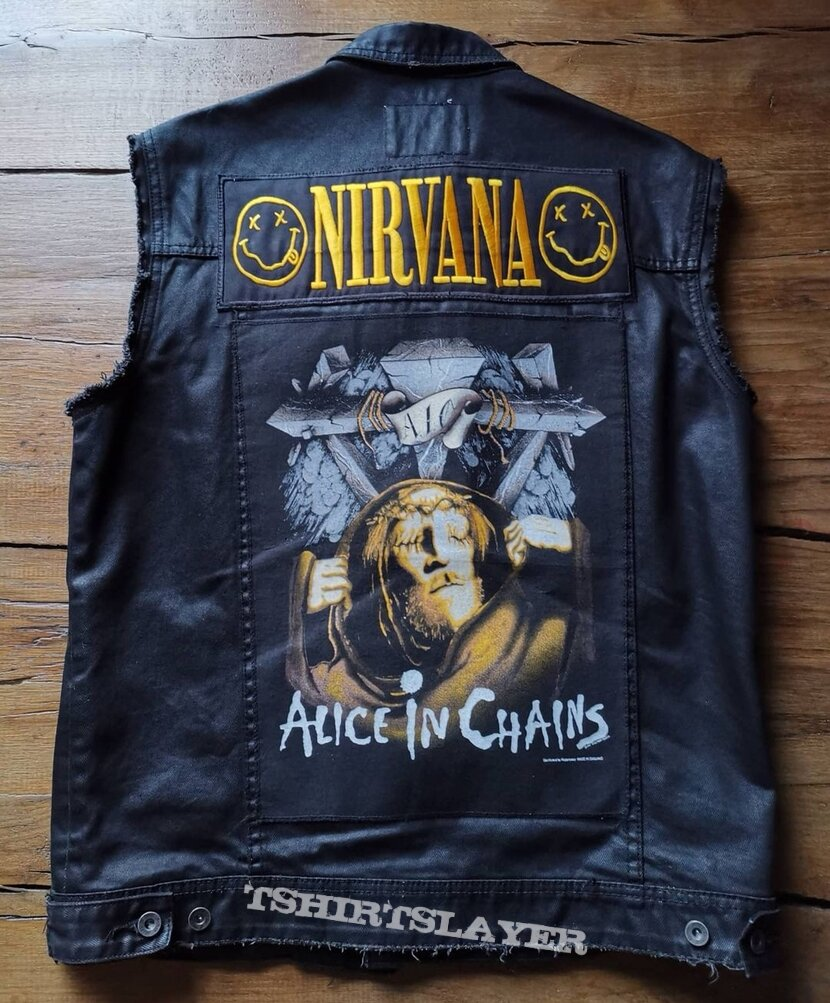 Alice in Chains backpatch / Grunge vest