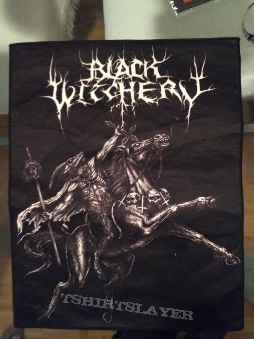Black Witchery Backpatch   TShirtSlayer TShirt and BattleJacket Gallery