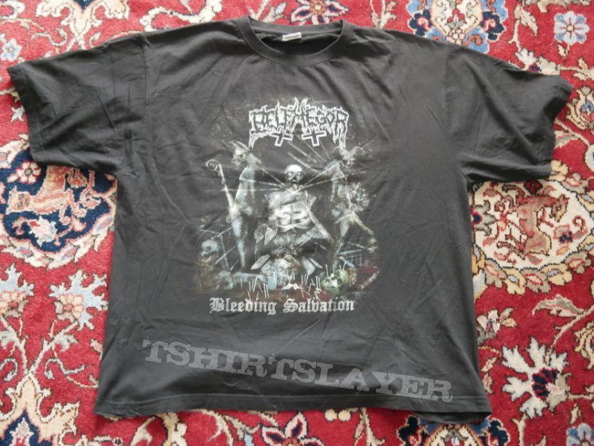 Belphegor Goatreich Fleshcult Tour Shirt