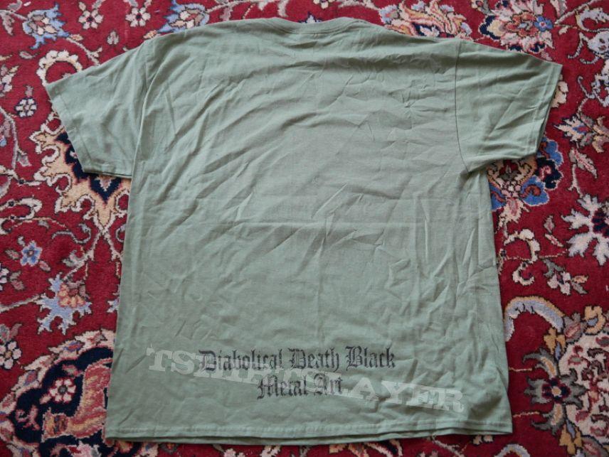 Belphegor Baphomet Military Green Shirt
