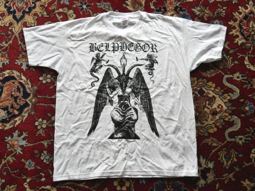 Belphegor Baphomet White Shirt