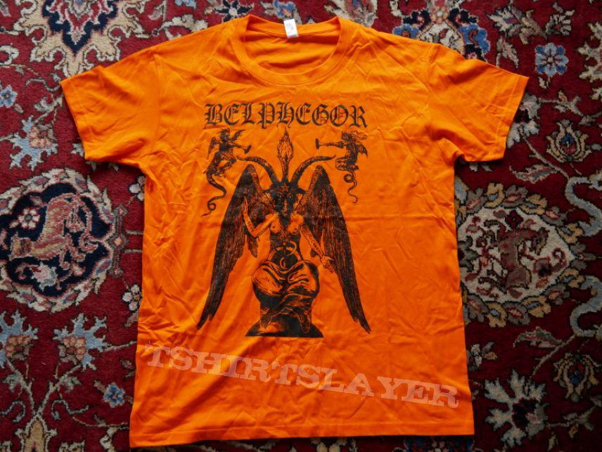 Belphegor Baphomet Orange Shirt