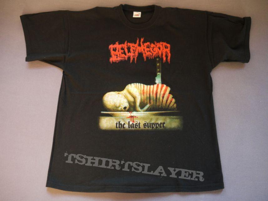 Belphegor The Last Supper Baby Jesus Shirt