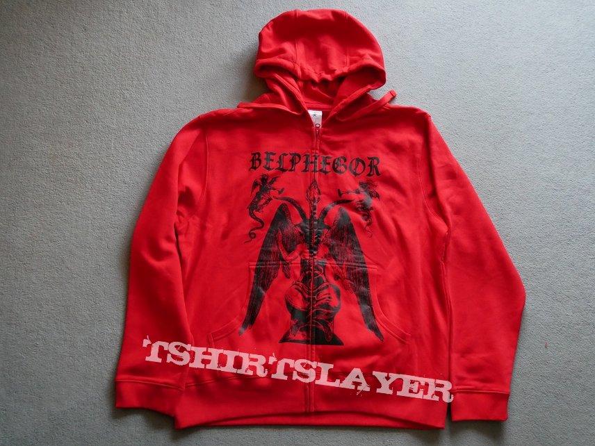 Belphegor Baphomet Zipper  Red