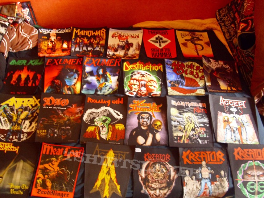 My backpatches collection