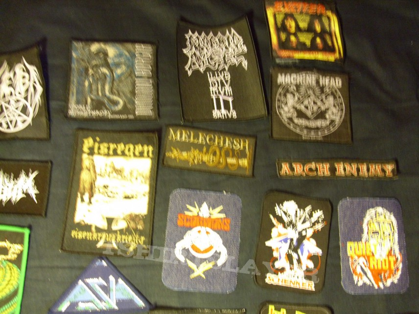 Patches for trade or sale!