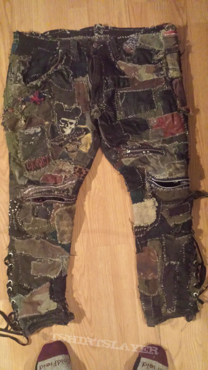 My Patched Pants (update)