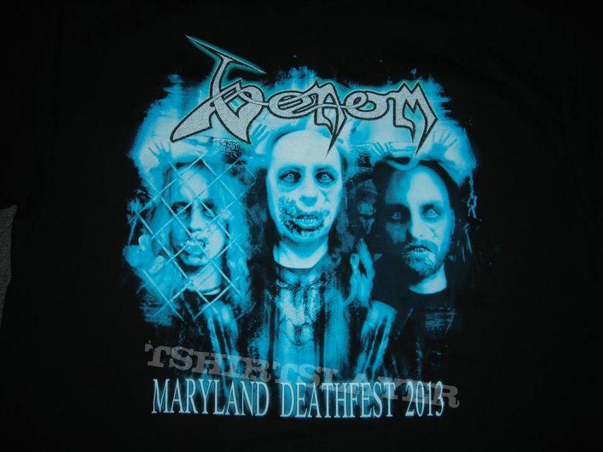Venom Maryland deathfest shirt