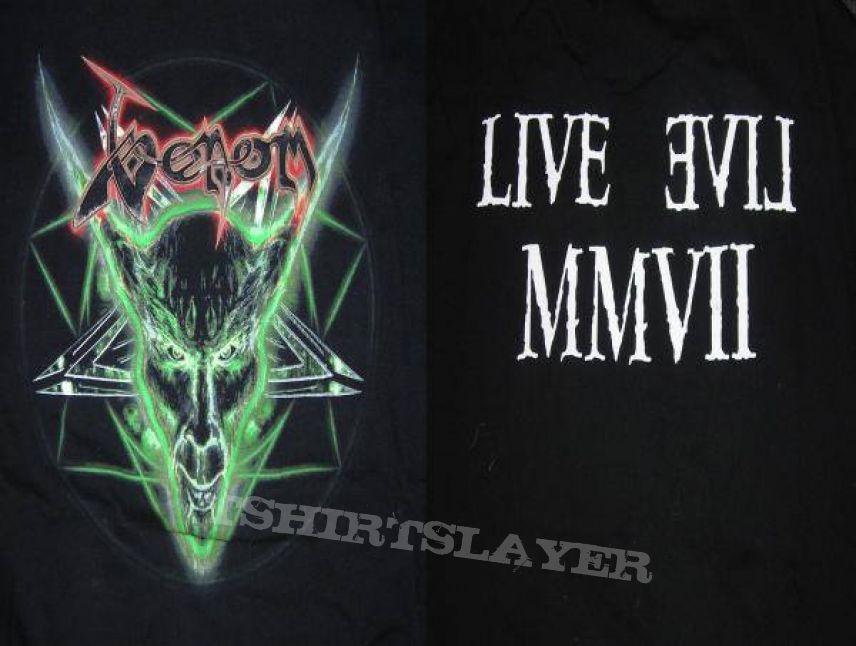 Venom Tourshirt 2007