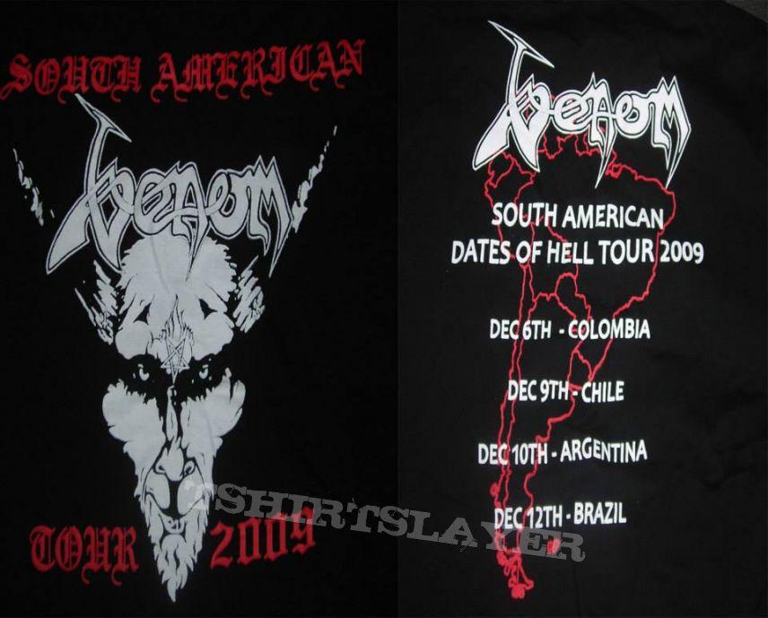 Venom South american tour 2009