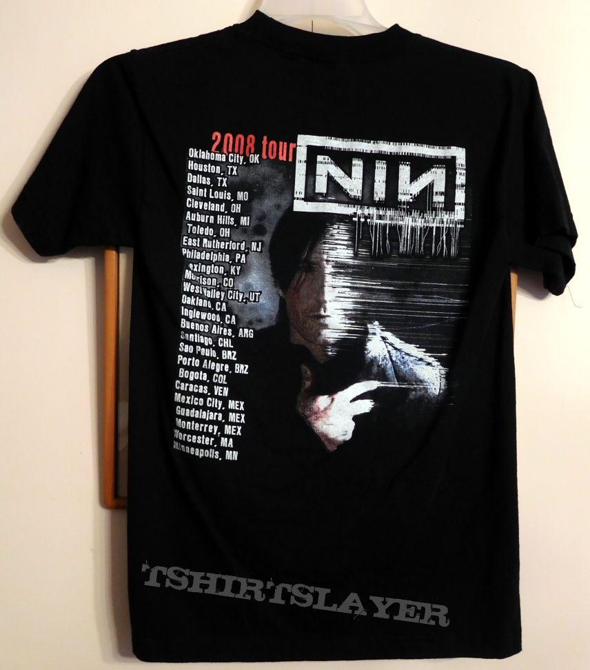 NINE INCH NAILS 2008 Tour Shirt | TShirtSlayer TShirt and ...