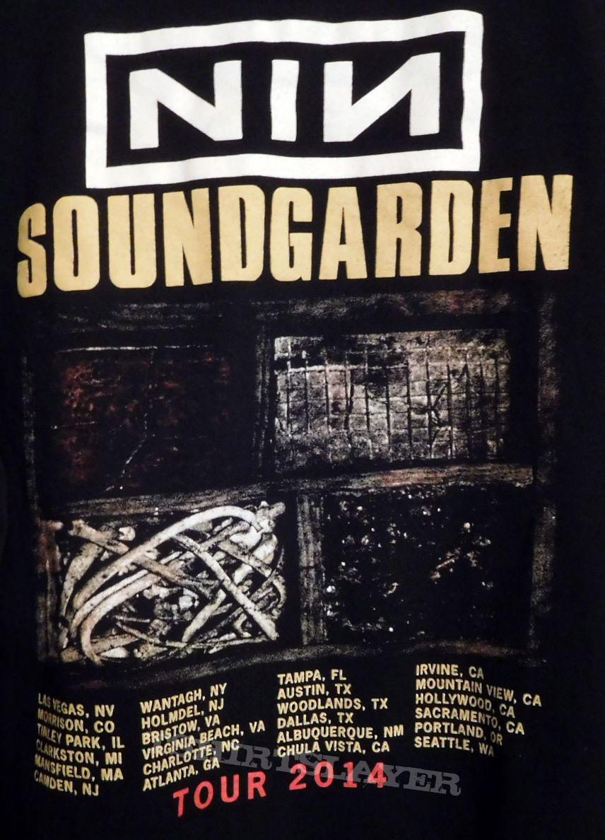 Nine Inch Nails / Soundgarden 2014 Tour Shirt | TShirtSlayer TShirt
