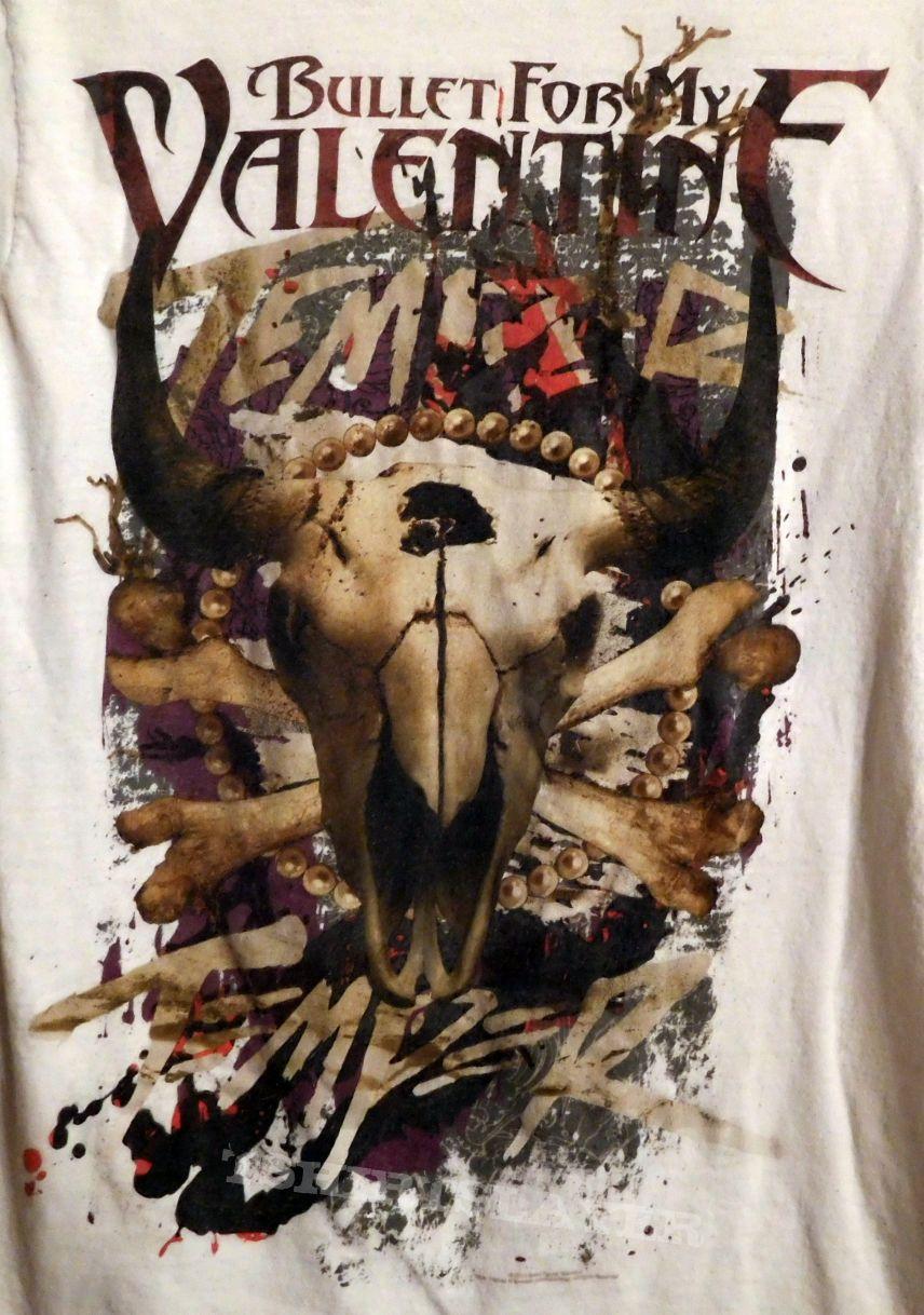BULLET FOR MY VALENTINE T Shirt   M   Temper Temper